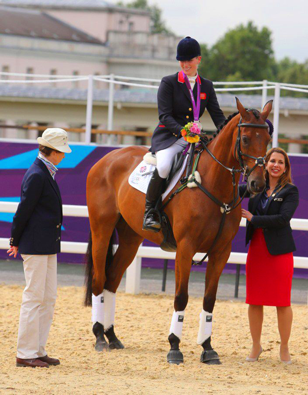 London Olympic Games 2012 Photos Equestrian Eventing Medals